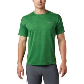 Columbia Irico Knit Short Sleeve Crew Shirt Men green boa